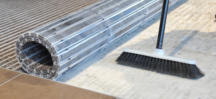 Aluminium rollable Entrance Mat